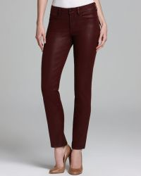 Nydj Sheri Coated Skinny Jeans - Lyst