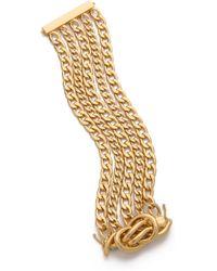 Rachel Zoe - Love Me Knot Magnetic Bracelet - Lyst