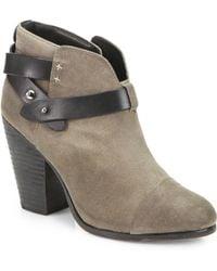 Rag & Bone Harrow Suede Ankle Boots - Lyst