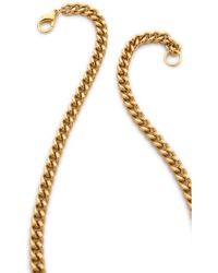 Sandy Hyun - Jewelled Triangle Pendant Necklace - Lyst