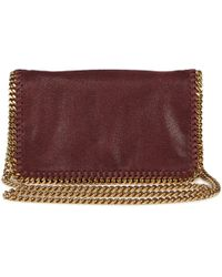 Stella McCartney Falabella Faux Suede Crossbody Bag - Lyst