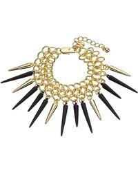 Whistles - Chain Spike Bracelet - Lyst