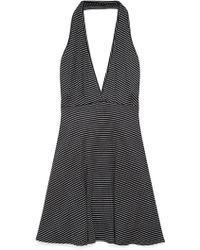 Forever 21 Favorite Striped Halter Dress - Lyst