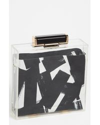 French Connection Minaudière black - Lyst