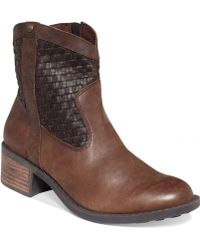 Me Too - Samara Booties - Lyst
