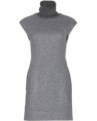 Polo Ralph Lauren Sleeveless Dress With Turtleneck - Lyst