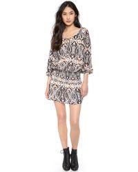 Antik Batik Vee Mini Dress - Lyst
