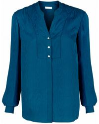 Matthew Williamson Jacquard Silk Shirt - Lyst