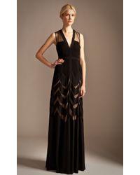 Temperley London Long Romy Dress - Lyst
