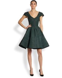 Zac Posen Silk Party Dress - Lyst