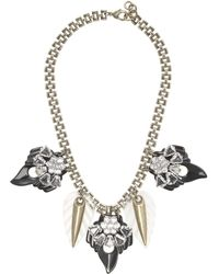 J.Crew Lulu Frost For Compass Rose Necklace - Lyst