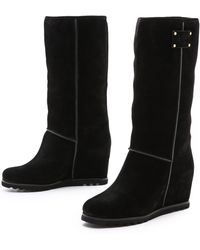 287e6f9b3ab Marc By Marc Jacobs - Tall Snow Boots On Hidden Wedge - Lyst
