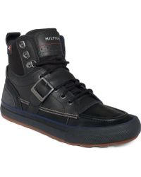 Tommy Hilfiger Captain Boots - Lyst