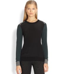 Bailey 44 Wordsworth Mixedmedia Colorblock Sweater - Lyst