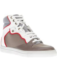 Balenciaga Hi Top Trainer - Lyst