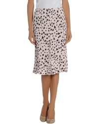 Marni Knee Length Skirt - Lyst