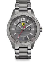 Scuderia Ferrari - Scuderia Stainless Steel Watch - Lyst