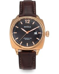 Shinola Brakeman Stainless Steel Watch - Lyst