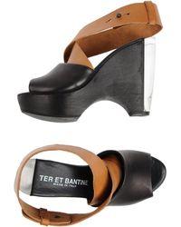 Ter Et Bantine Platform Sandals - Lyst