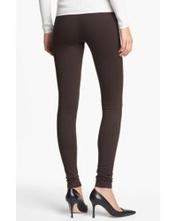 Vince Scrunched Ankle Leggings - Lyst