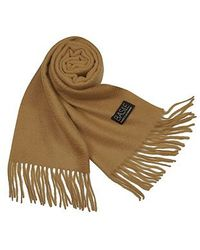 Basile - Extrasoft Solid Cashmere Long Scarf - Lyst
