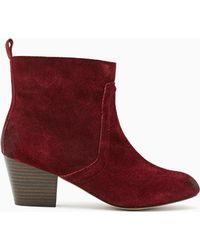 Nasty Gal Shoe Cult Wander Boot Oxblood - Lyst
