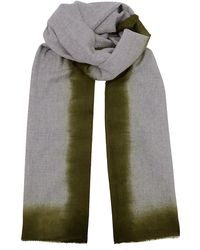 Richard James - Dip Dye Cashmere Scarf - Lyst