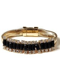 Banana Republic Slider Bracelet black - Lyst