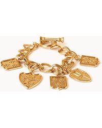 Forever 21 - Regal Charm Bracelet - Lyst