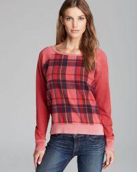 Textile Elizabeth and James - Sweatshirt Perfect Flannel - Lyst