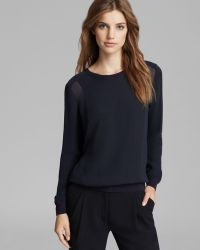 Vince Top Sheer Side Panel - Lyst