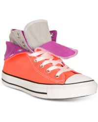 Converse Women'S Chuck Taylor Two Fold Casual Sneakers From Finish Line - Lyst
