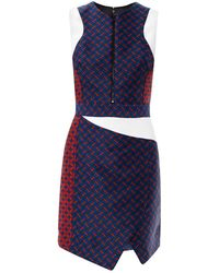 Camilla & Marc Invocation Geometric Jacquard Dress - Lyst