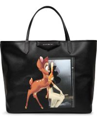 Givenchy Antigona Large Bambiprint Leather Shopper Multi - Lyst