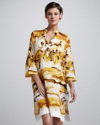 Jean Paul Gaultier Printed Tunic Coverup - Lyst