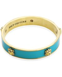 Juicy Couture - Scarab Skinny Bangle - Lyst