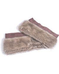 Maxmara S Max Henry Fur Cuffs - Lyst