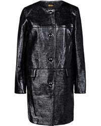 Chloë Sevigny For Opening Ceremony Coat Black  - Lyst