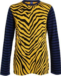 Tigersushi Furs Tiger Woven Stretch Cotton Knit - Lyst