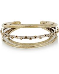 Anndra Neen - Barnacle Sunset Silver and Goldtone Cuff - Lyst
