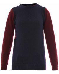Sophie Hulme - Bicolour Wool Sweater - Lyst