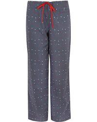 Princesse Tam-Tam - Grey Spot Pyjama Bottoms - Lyst