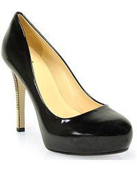 Kate Spade Lori Pump in Black Patent Leather - Lyst