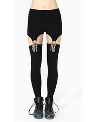 Nasty Gal Reverse Claw Grip Leggings - Lyst