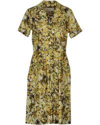 Paul Smith Kneelength Dress - Lyst