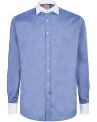 Thomas Pink - Slim Fit Shirt - Lyst