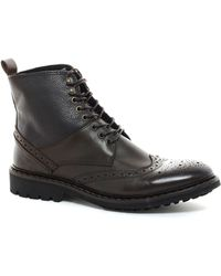 Selected Homme Brogue Boots - Lyst