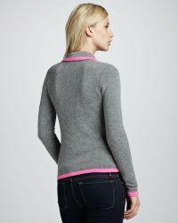 Autumn Cashmere - Contrasttipped Cashmere Blazer - Lyst