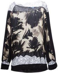 Blumarine Printed Sweater - Lyst