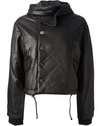 Twenty8Twelve - Hooded Leather Jacket - Lyst